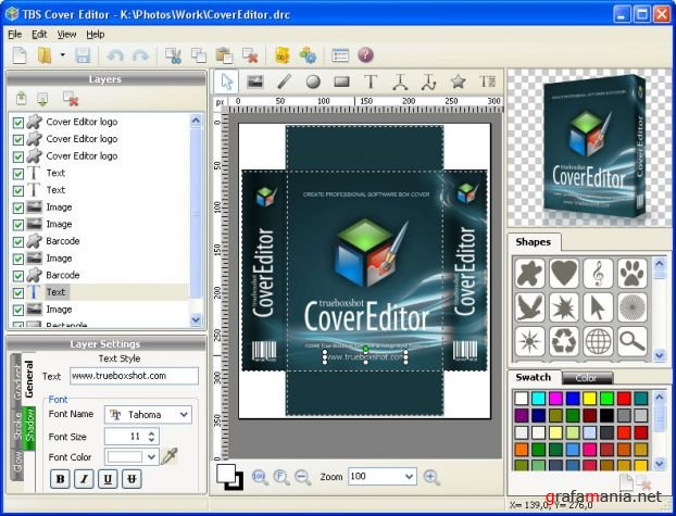 TBS Cover Editor 1.0.0.103