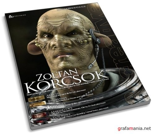 3D Creative Magazine No32 (April 2008)