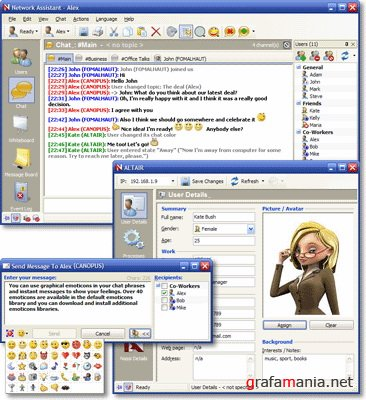 Network Assistant 4.3 (build 2590)