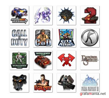 GF icon pack - Games