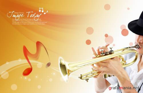 ImageToday - Music PSD File