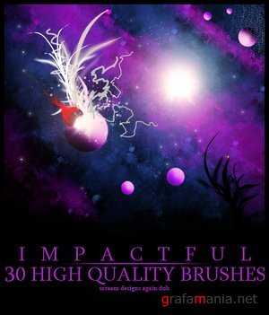 Impactful brushes