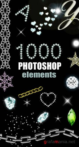 ����� 1000 ��������� ������� ��� PHOTOSHOP - PSD, PNG