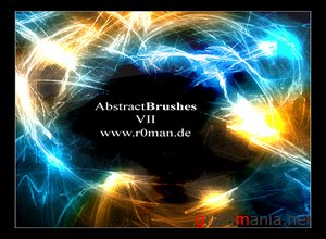 ������������ ����� ��� ��������.  Abstract Brush 2  .