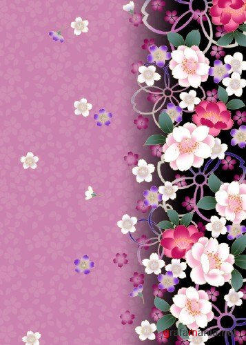Flower Backgrounds - Hi-Resolution
