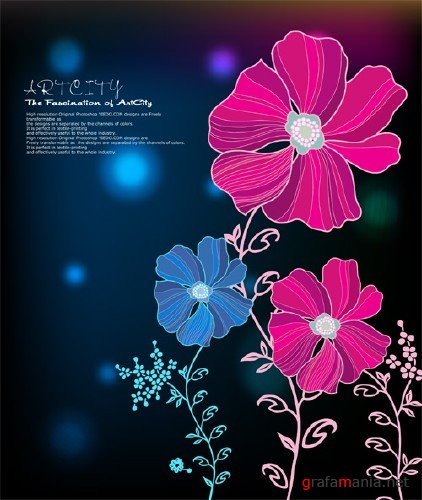 Flowers Vector Design Pack