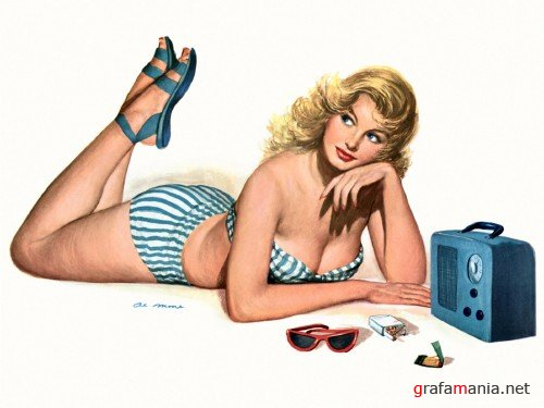 Girls - 1940's and 1950's -part 1