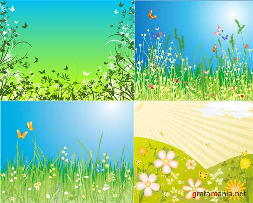 vector nature backgrounds