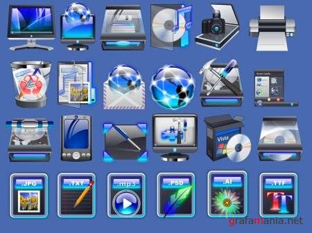New Windows Vista Icons 2009