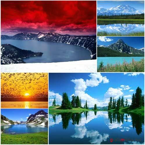 90 Beautiful Lakes Wallpapers