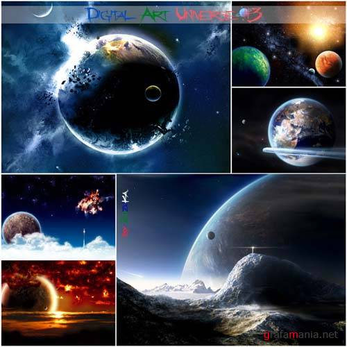 60 Digital Art Universe Wallpapers #3