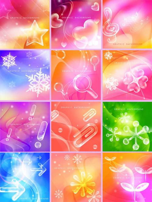 Beautiful PSD backgrounds - красивые PSD фоны
