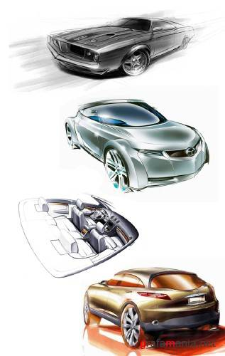 Cars concept scetching