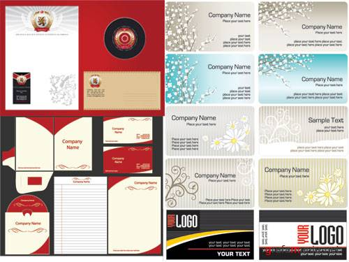 The business cards templates