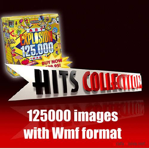 125.000 Cliparts - Hits Collection