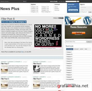 News Plus - Premium Wordpress Theme