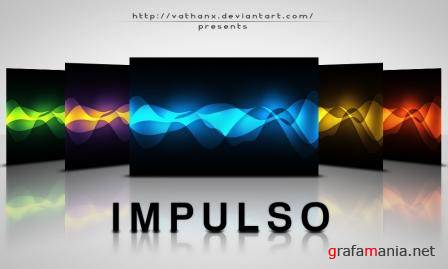 Impulso Abstract Wallpaper Pack