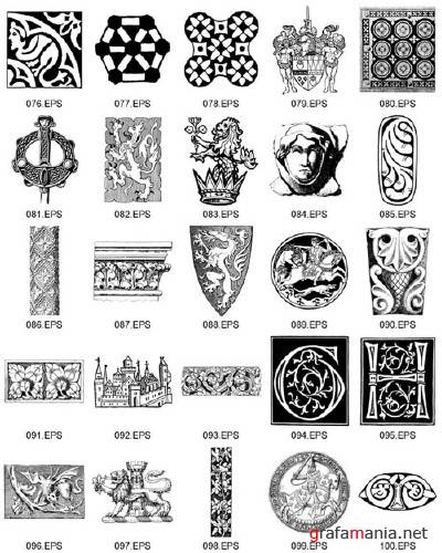 Dover ClipArt - Medieval Illustrations