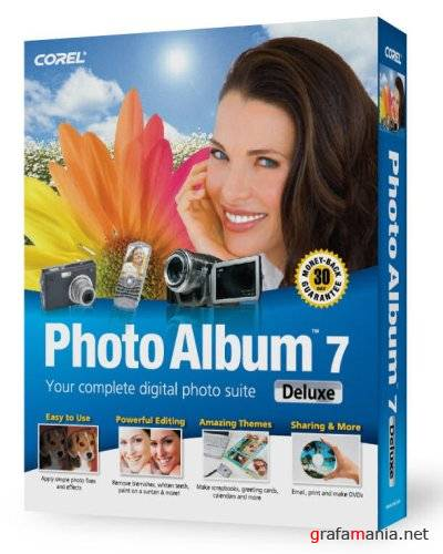 Corel Photo Album v7.00 Deluxe Portable