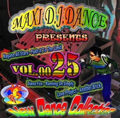 MAXI D.J. DANCE VOL.0025 (New Dance)