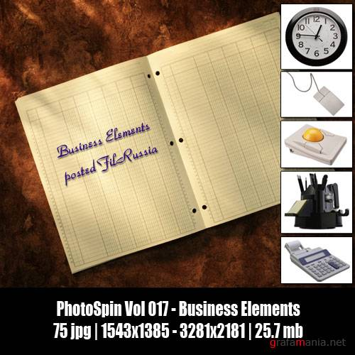PhotoSpin Vol 017 - Business Elements