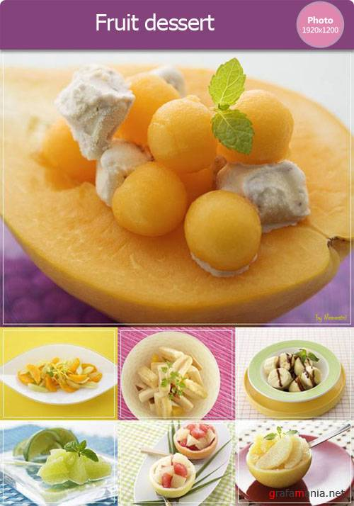 Fruit dessert photo