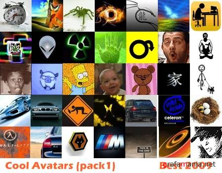 Cool Avatars (pack1)