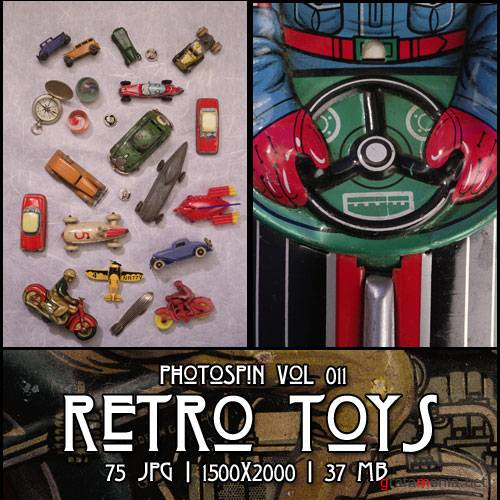 PhotoSpin Vol 011 - Retro Toys