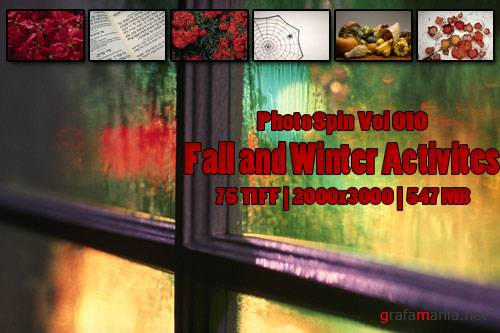 PhotoSpin Vol 010 Fall and Winter Activites