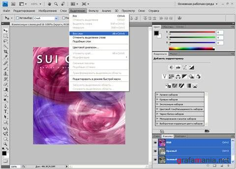 Использование ADOBE PHOTOSHOP CS4 (Видеоурок)