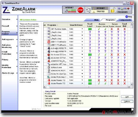 ZoneAlarm 7.0.362.000