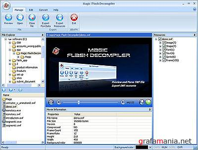 Magic Flash Decompiler v5.0.1.2