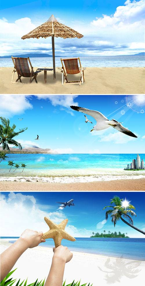PSD templates - Sea