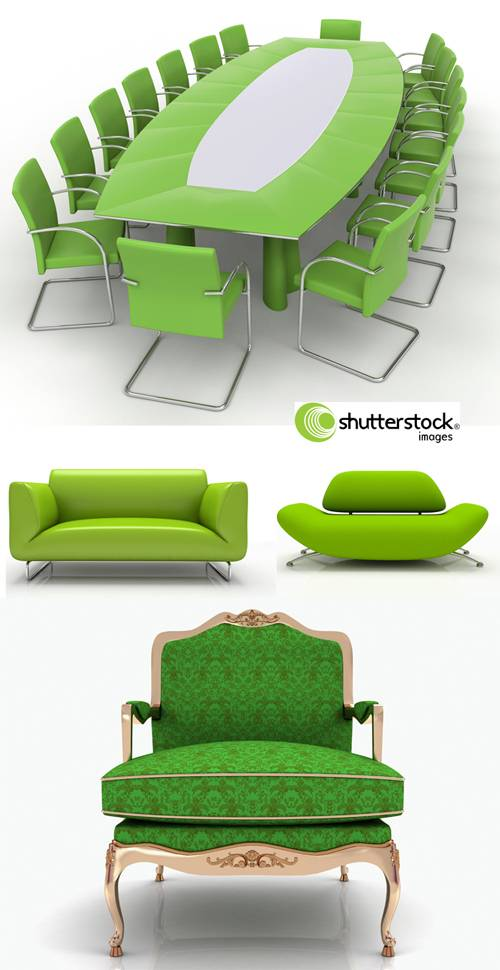 Awesome SS - 3D green furnitures