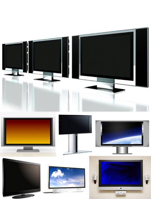 LCD TV and monitor