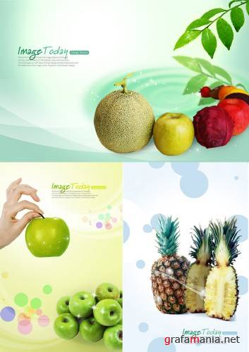 fruit's PSd template
