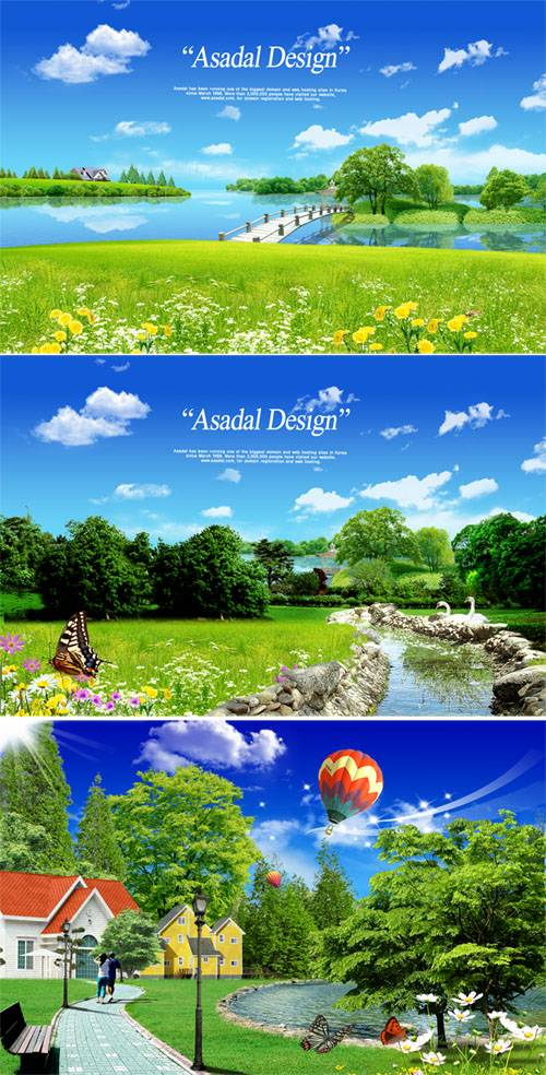 PSD templates - Nature 5