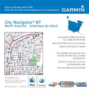 Garmin City Navigator North America 2010.10 NT Update