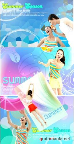 summer Psd templates(5)