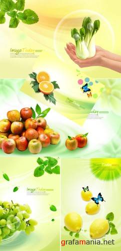 fruit and vegetable PSd template(2)