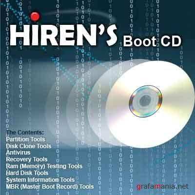 Hiren's BootCD 9.8 ISO (Russian/Eng) + Full Acronis addon