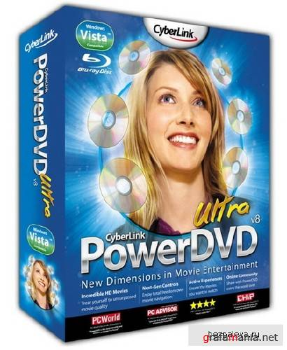 CyberLink PowerDVD ® v.9.0.1501.0 + KeyGen + Crack + Rus !!!