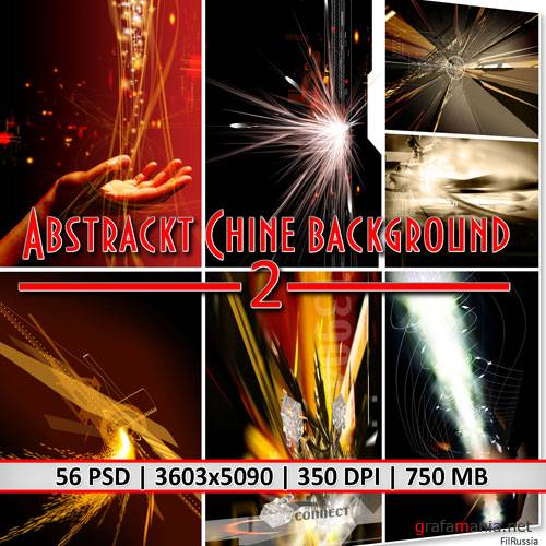 Abstrackt Chine Background 2