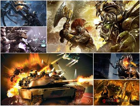 80 Amazing Games Battles HD Wallpapers