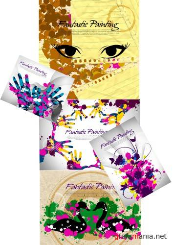 Painting PSD templates(4)