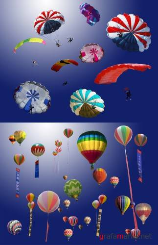 Balloons and Parachutes PSD