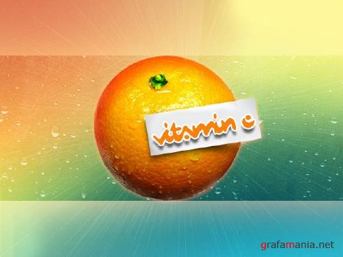 Vitamin C PSD template