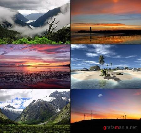 Wallpapers natural landscapes PIXPack №86