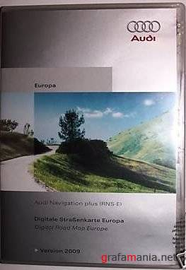 Audi Navigation Plus RNS-E Europe 2009 DVD2