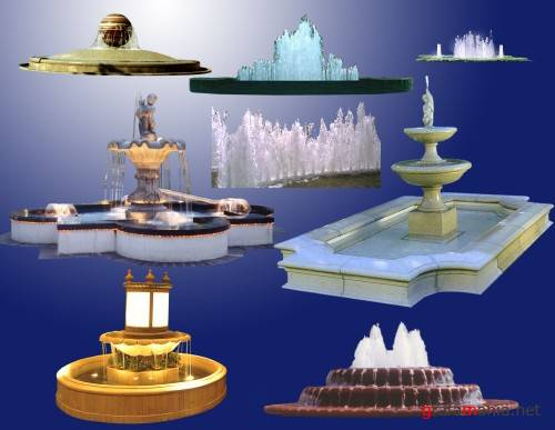 Fountains - Psd